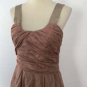 J. Crew 100% Silk Dress Dusty Rose/Maueve